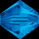 Swarovski Beads 5328 6mm XILION Bicone Sapphire