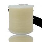 elastiek 1mm doorzichtig rond kunststof