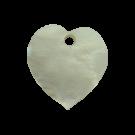 hangers 11mm naturel hartje schelp