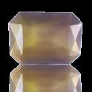 fancy stones 25mm paars2 rechthoek glas