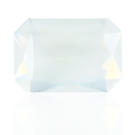 fancy stones 25mm wit rechthoek glas