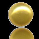glasparels bouton 6mm geel rond