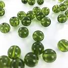 Glaskralen rond groen 10mm