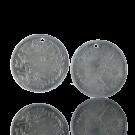 hanger munten 27mm oudzilver rond Arabisch