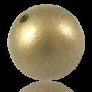 Houten kralen 38mm rond goud