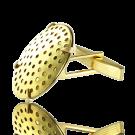knopen manchetknopen 23mm opnaai goud rond