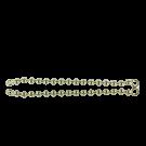 kogelketting 83mm goud rond
