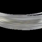 koperdraad 8mm zilver rond