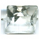 kroonluchter onderdeel 20mm kristal vierkant
