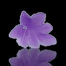 hangers 28mm lila blaadje