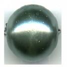 kunststof parels 14mm groen rond