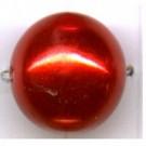 kunststof parels 16mm rood rond kleurnummer 242