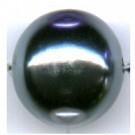 kunststof parels 16mm grijs rond kleurnummer 262