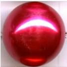 kunststof parels 20mm rood rond