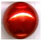 kunststof parels 20mm rood rond kleurnummer 242