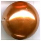 kunststof parels 20mm bruin rond