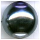 kunststof parels 20mm grijs rond kleurnummer 262