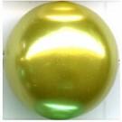 kunststof parels 20mm groen rond
