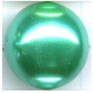 kunststof parels 20mm groen rond kleurnummer 465