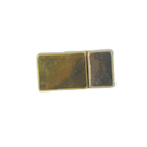 magneetsluitingen rechthoek 5mm goud