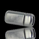 magneetsluitingen rechthoek 5mm zilver