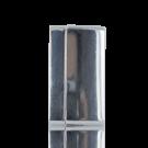 magneetsluitingen rechthoek 30mm zilver