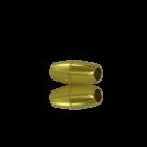 magneetsluitingen ovaal 4mm goud
