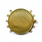 opwerksluitingen 36mm goud rond