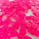 Pailletten rond plat 8mm roze