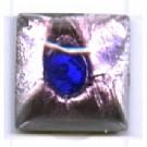 plakstenen 10mm bruin vierkant glas