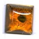 plakstenen 10mm groen rond glas