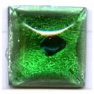 plakstenen 14mm groen vierkant glas