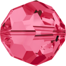 Swarovski Beads 5000 6MM Indian Pink