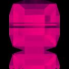 Swarovski Cube Beads 5601 Indian Pink 8mm