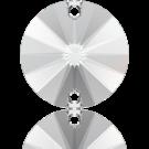 Swarovski Rivoli opnaaistenen rond 10mm Crystal