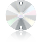 Swarovski Rivoli opnaaistenen rond 10mm Crystal Aurore Boreale