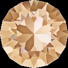 Swarovski Roundstones 1088 8MM CHATON Crystal Golden Shadow 001 GSHA