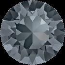 Swarovski Roundstones 1088 8MM CHATON Crystal silver Night 001 Sini
