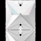 Swarovski opnaaistenen vierkant 16mm Crystal Aurore Boreale