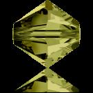 Swarovski XILION Beads 5328 konische kralen 3mm Olivine