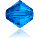 Swarovski XILION Beads 5328 konische kralen 3mm Sapphire
