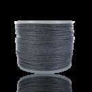Waxkoord 0,5mm katoen grijs rond