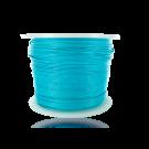 Waxkoord 0,5mm katoen lichtblauw turquoise rond