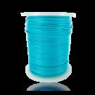 Waxkoord 1mm katoen lichtblauw turquoise rond